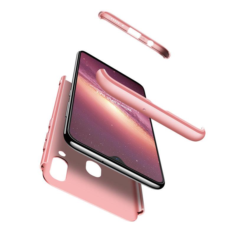 Husa Samsung Galaxy A40 GKK 360 Full Cover Roz