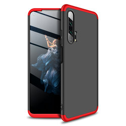Husa Huawei Honor 20 Pro GKK 360 Full Cover Negru-Rosu