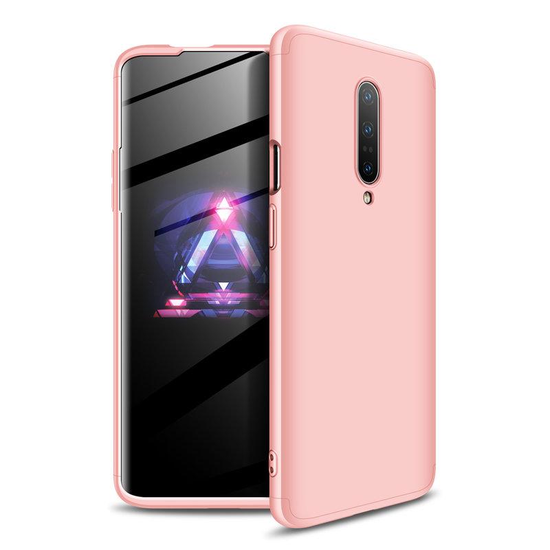 Husa OnePlus 7 Pro GKK 360 Full Cover Roz