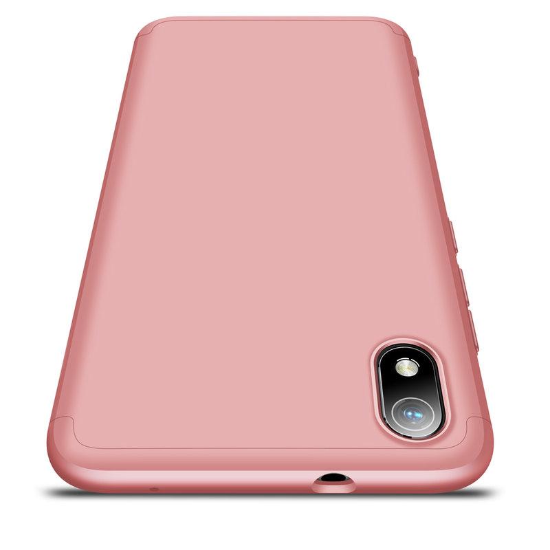 Husa Xiaomi Redmi 7A GKK 360 Full Cover Roz