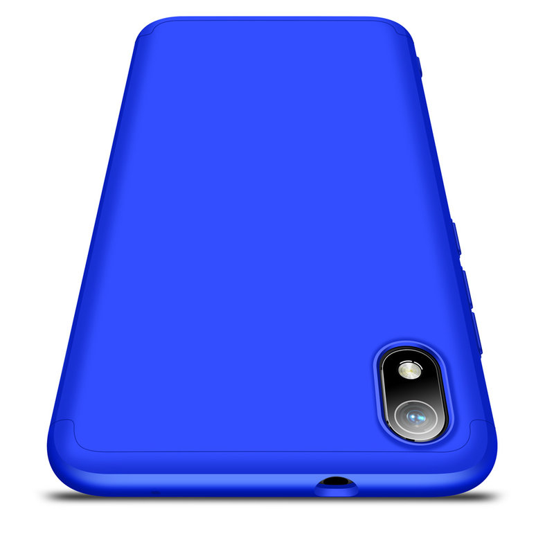 Husa Xiaomi Redmi 7A GKK 360 Full Cover Albastru