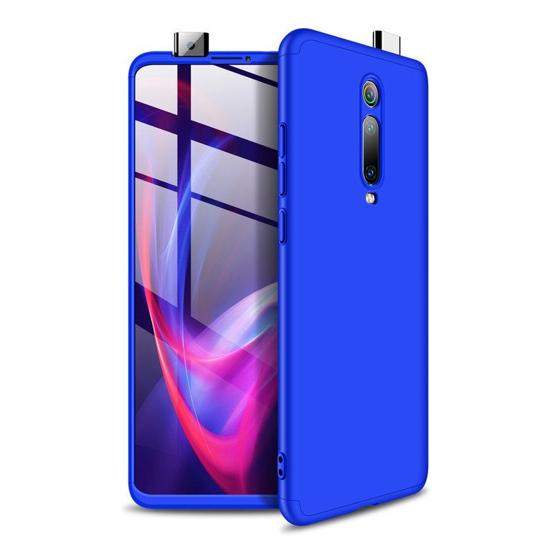 Husa Xiaomi Mi 9T GKK 360 Full Cover Albastru