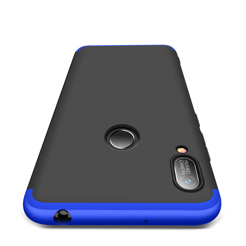 Husa Huawei Y6 2019 GKK 360 Full Cover Negru-Albastru