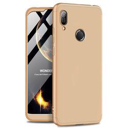 Husa Huawei Y6 2019 GKK 360 Full Cover Auriu