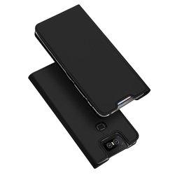 Husa Asus Zenfone 6 ZS630KL Dux Ducis Flip Stand Book - Negru