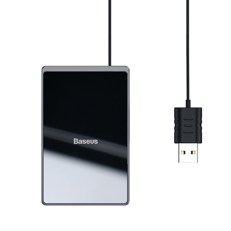 Incarcator wireless Baseus Card Ultra-Thin - WX01B-01 - Black