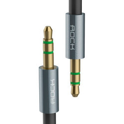 Cablu audio Rock 1M Jack 3.5mm to Jack 3.5mm - RAU0509 - Tarnish