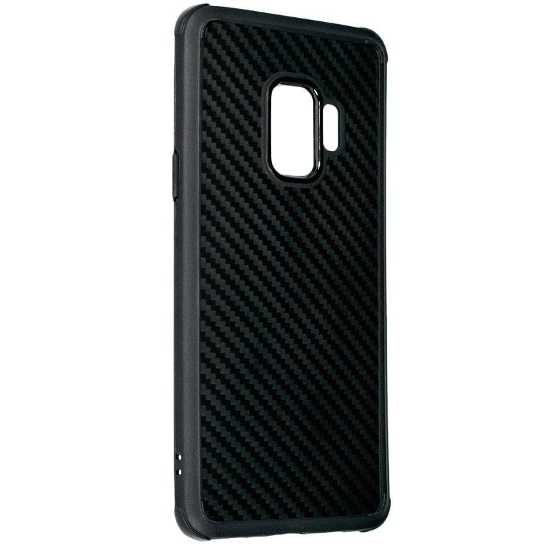 Husa Samsung Galaxy S9 Roar Carbon Armor - Negru
