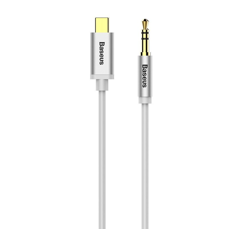 Adaptor audio Type-C  to Jack 3.5mm Baseus M01 - White