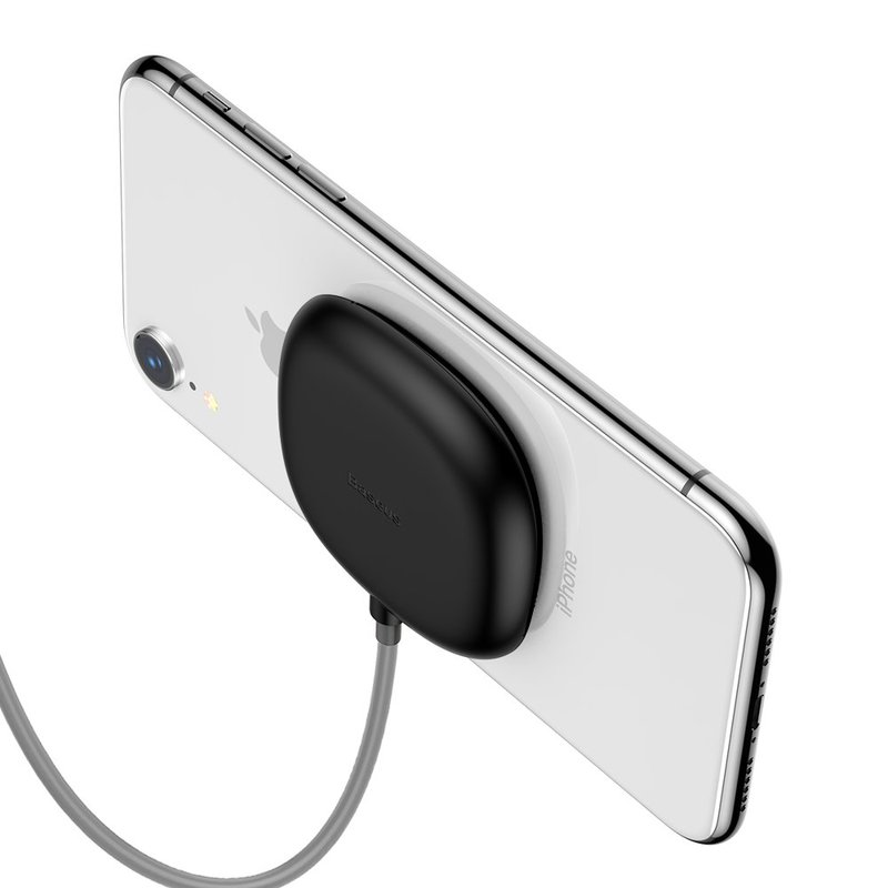 Incarcator Wireless Basus Suction Cup 10W -WXXP-01 - Black