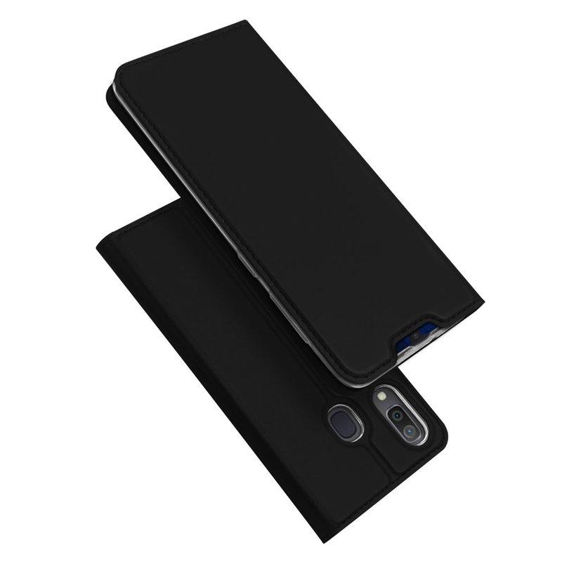 Husa Samsung Galaxy A20e Dux Ducis Flip Stand Book - Negru