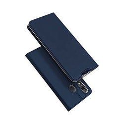 Husa Samsung Galaxy A20e Dux Ducis Flip Stand Book - Albastru