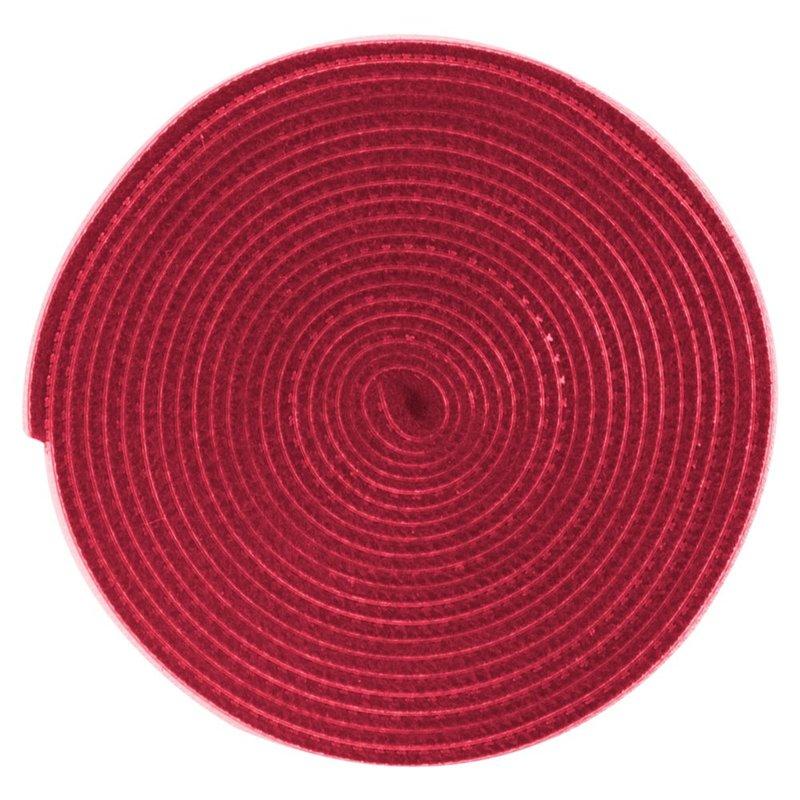 Organizator cabluri / Velcro Baseus Rainbow Circle 300cm -ACMGT-F09- Red