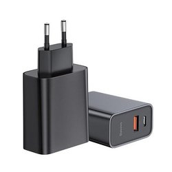 Incarcator Priza Baseus Speed PPS USB / Type-C Quick Charge 3.0, 30W 4.5A - Negru CCFS-C01