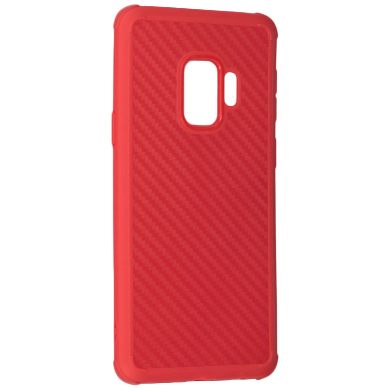 Husa Samsung Galaxy S9 Roar Carbon Armor - Rosu