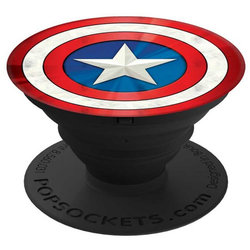 Popsockets Original, Suport Cu Functii Multiple - America Shield Icon
