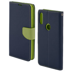 Husa Huawei P Smart Z Flip Albastru MyFancy