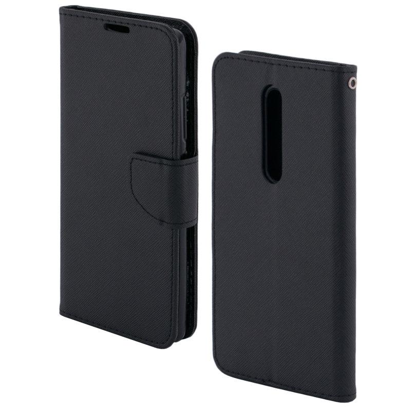 Husa Xiaomi Mi 9T Flip Negru MyFancy