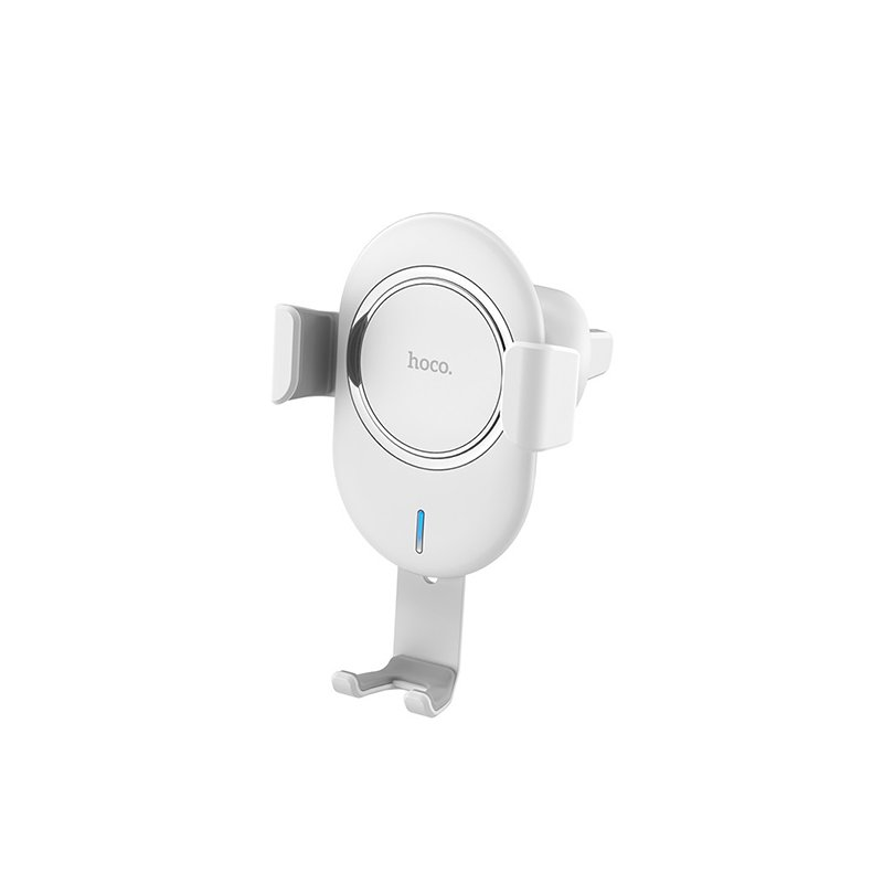 Suport Auto Cu Functie De Incarcare Wireless Hoco CW17 Fast Charger - White