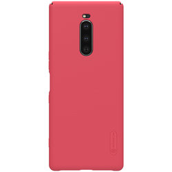Husa Sony Xperia 1 Nillkin Frosted Red