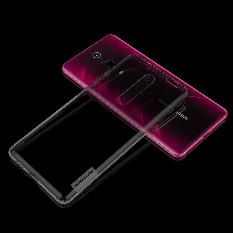 Husa Xiaomi Mi 9T Nillkin Nature UltraSlim Fumuriu