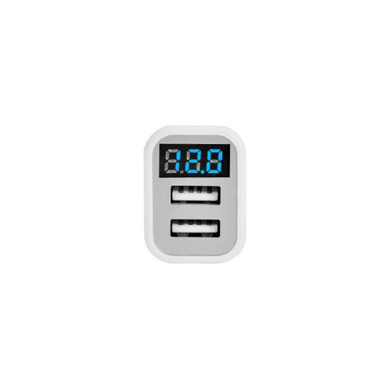 Incarcator Auto Hoco Z3 Dual-USB Fast Charging 3.1A - White
