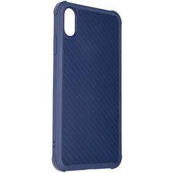 Husa iPhone XS Max Roar Carbon Armor - Albastru