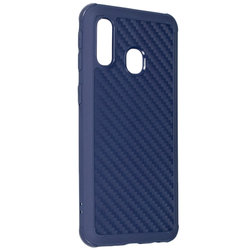 Husa Samsung Galaxy A40 Roar Carbon Armor - Albastru