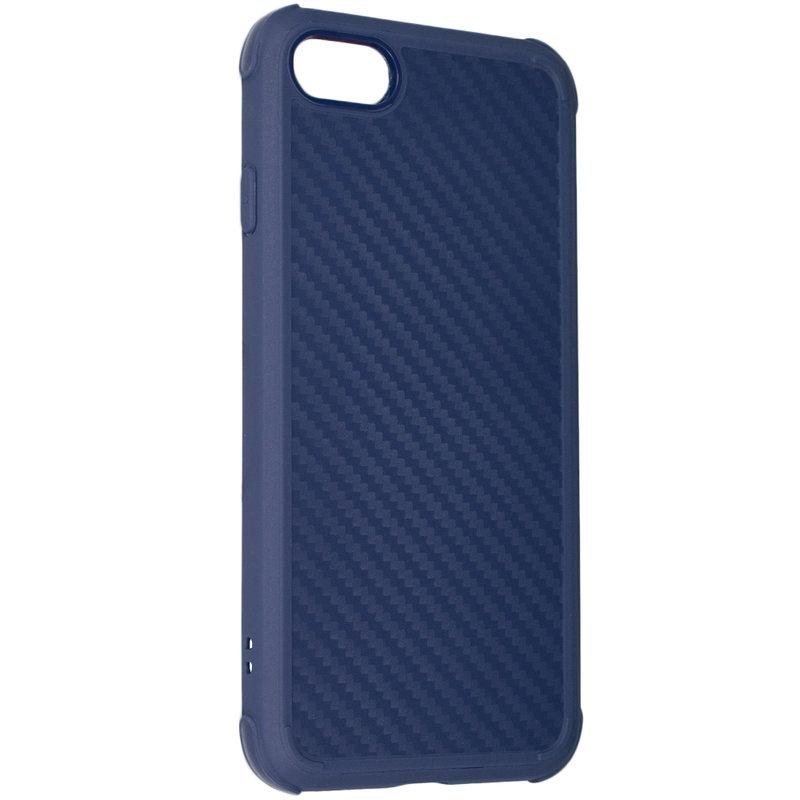 Husa iPhone 8 Roar Carbon Armor - Albastru
