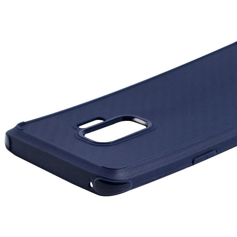 Husa Samsung Galaxy S9 Roar Carbon Armor - Albastru