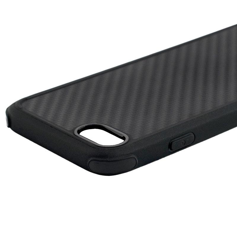 Husa iPhone 7 Roar Carbon Armor - Negru
