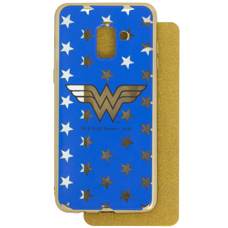 Husa Samsung Galaxy A6 Plus 2018 Cu Licenta DC Comics - Electro Wonder Woman
