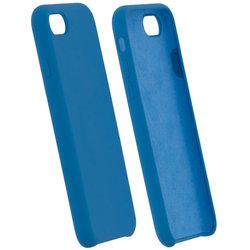 Husa iPhone 8 Silicon Soft Touch - Bleu