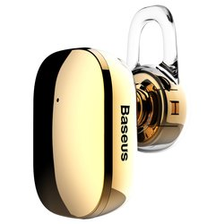 Casca Bluetooth 4.1 Baseus Encok A02 Mini Wireless Earphone - NGA02-0V - Gold