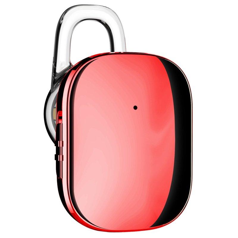 Casca Bluetooth 4.1 Baseus Encok A02 Mini Wireless Earphone - NGA02-09 - Red