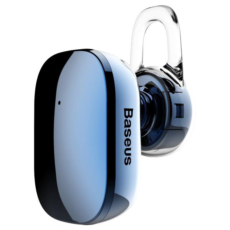 Casca Bluetooth 4.1 Baseus Encok A02 Mini Wireless Earphone - NGA02-03 - Blue