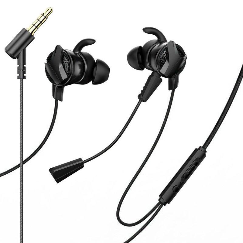 Casti In-Ear Cu Microfon Baseus Gamo H15 Mini Jack Headset - NGH15-01 - Black