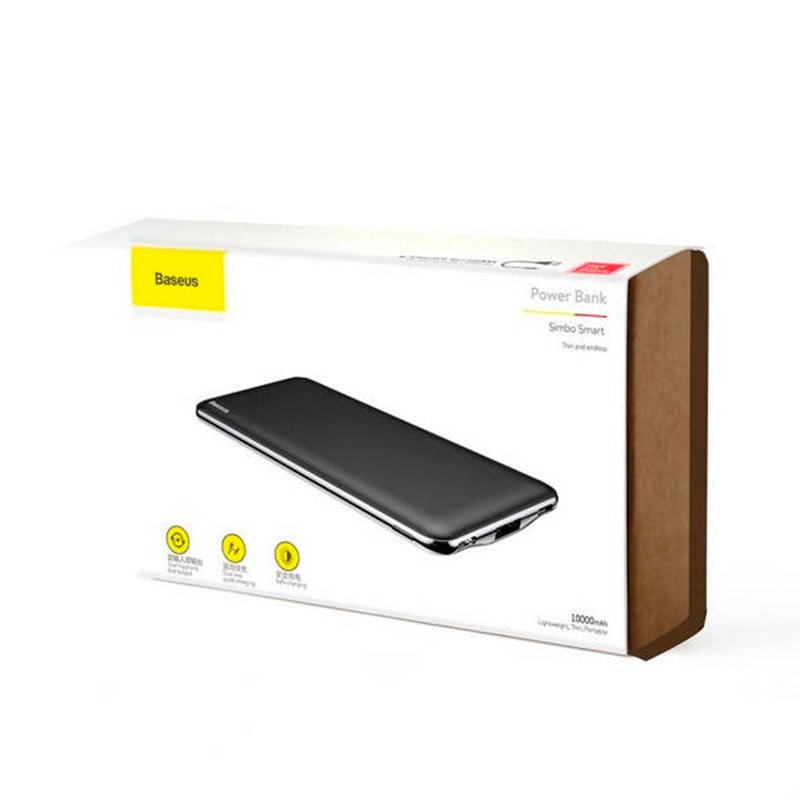 Baterie Externa Baseus Power Bank Simbo Smart 5V 3A 10000 mAh - PPALL-QB01 - Black
