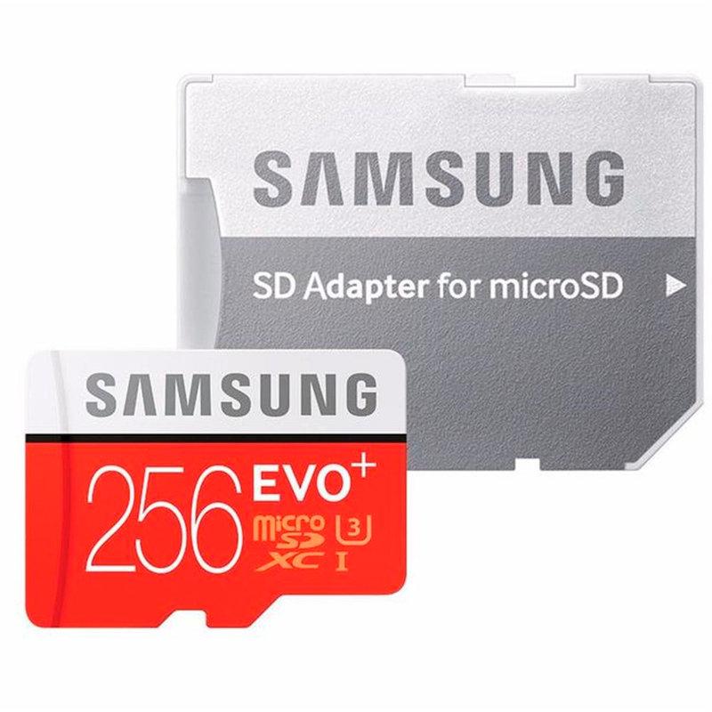 Card de memorie Samsung Micro SDXC UHS-I 256 GB Class 10 + Adaptor SD