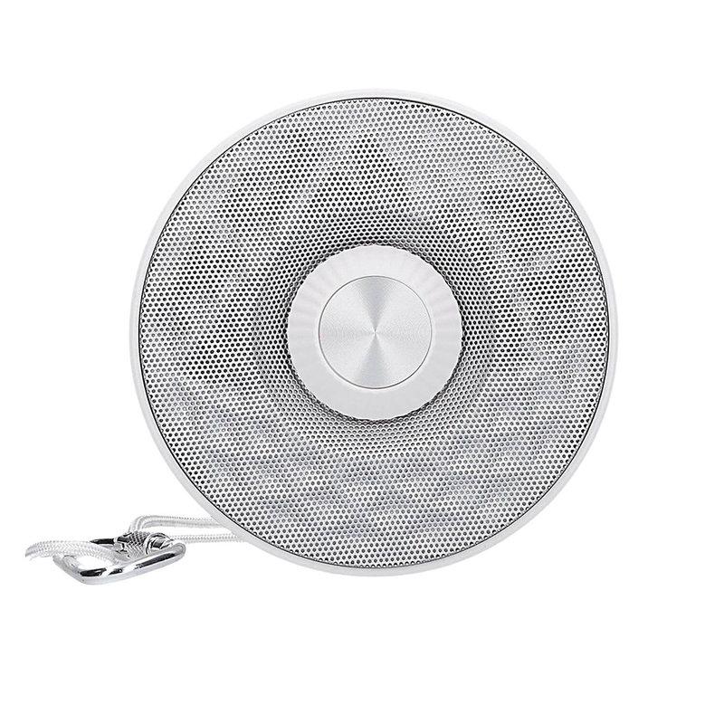 Boxa Portabila Bluetooth Baseus Lanyard E03 Outdoor - NGE03-S2 - Silver/White