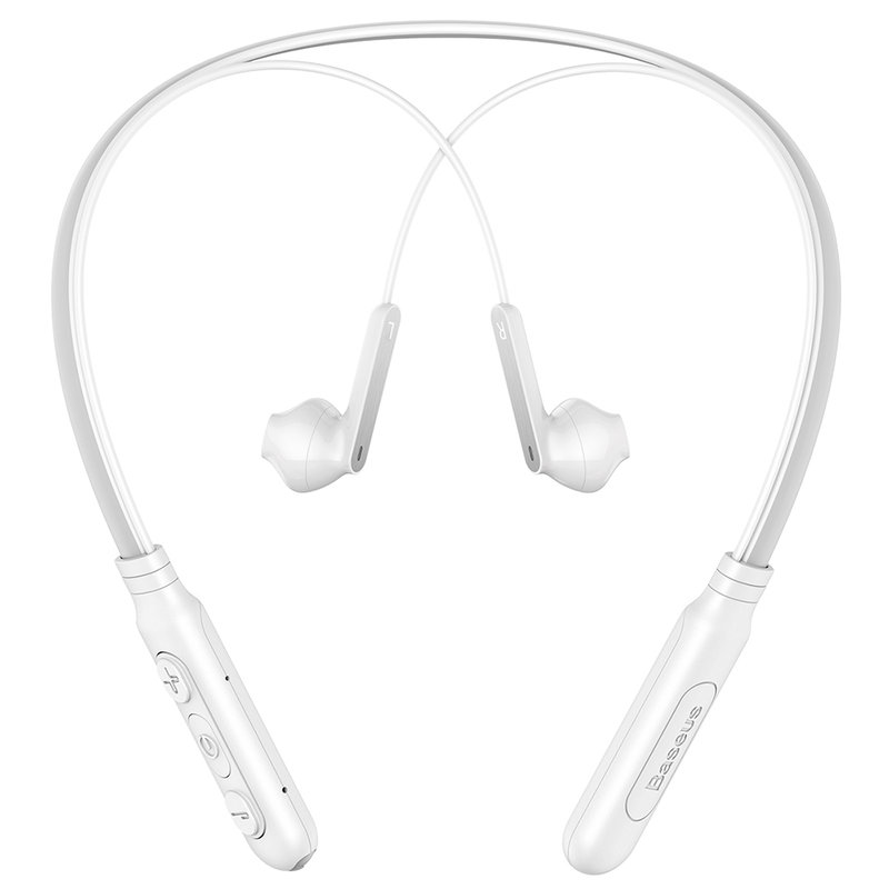 Casti In-Ear Wireless Baseus Earphone Bluetooth Encok S16 Neck Hung - NGS16-02 - White