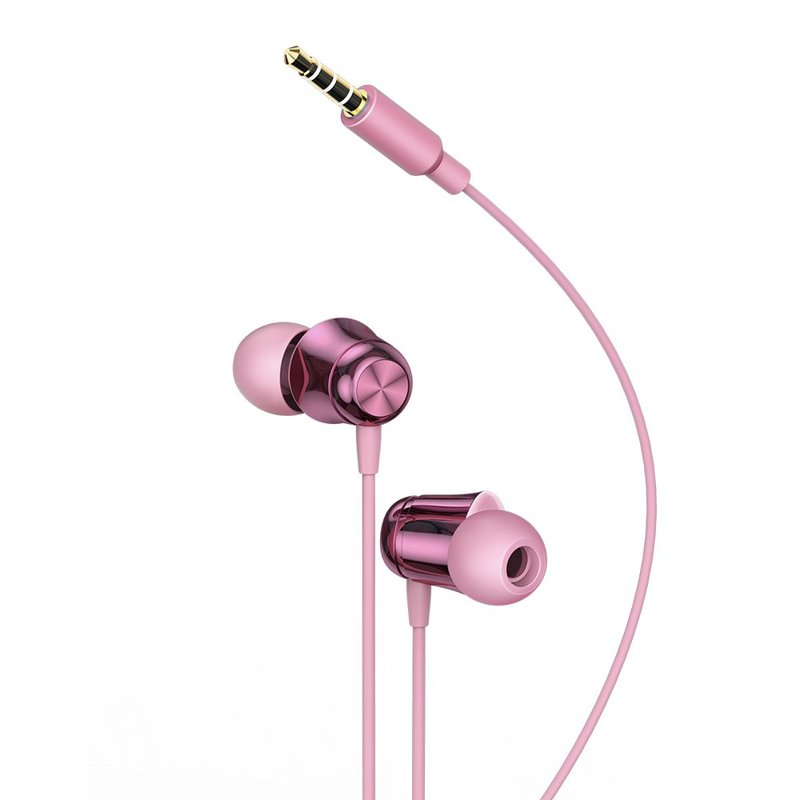 Casti In-Ear Cu Microfon Baseus Encok H13 Mini Jack with Remote Control - NGH13-04 - Pink