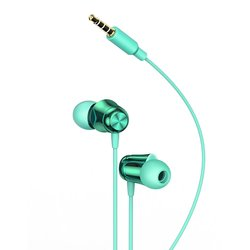 Casti In-Ear Cu Microfon Baseus Encok H13 Mini Jack with Remote Control - NGH13-06 - Green