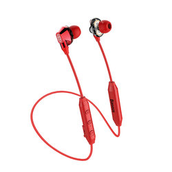 Casti In-Ear Wireless Baseus Encok S10 Bluetooth with Dual Moving-coil - NGS10-09 - Red