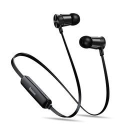 Casti In-Ear Wireless  Baseus Encok Sports S07 Bluetooth Headset 60 mAh - NGS07-01 - Black