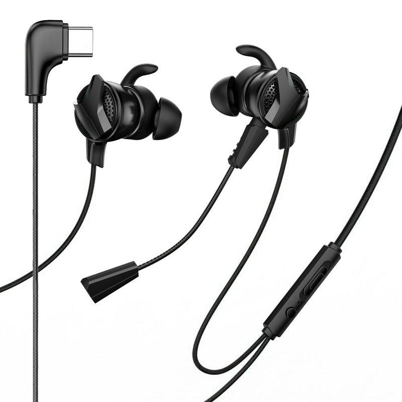 Casti In-Ear Cu Microfon Baseus Gamo C15 Type-C Headset - NGC15-01 - Black