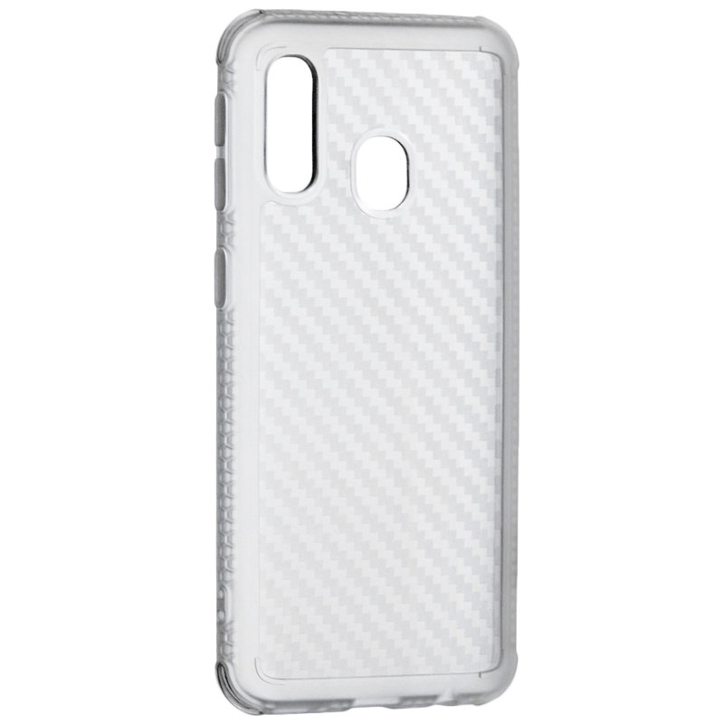 Husa Samsung Galaxy A40 Roar Carbon Armor - Transparent