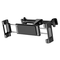 Suport Auto Tetiera Telefon/Tableta Baseus Backseat Adjustable Headrest Bracket - SUHZ-01 - Black