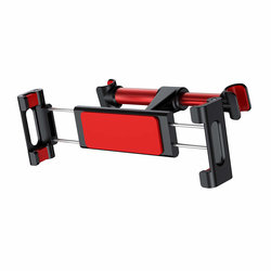 Suport Auto Tetiera Telefon/Tableta Baseus Backseat Adjustable Headrest Bracket - SUHZ-91 - Red