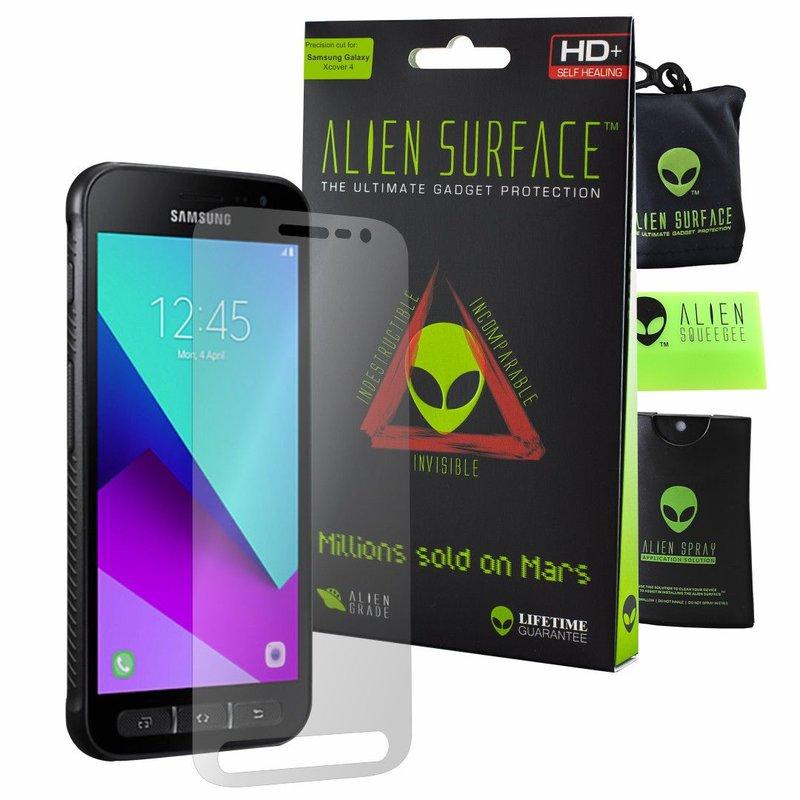 Folie Regenerabila Samsung Galaxy Xcover 4s Alien Surface XHD, Full Face - Clear